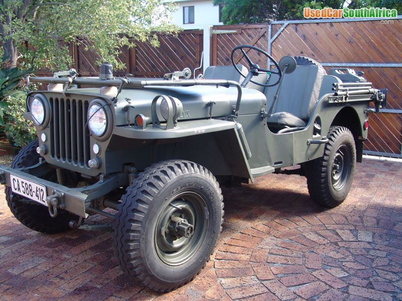 Willys Jeep For Sale >> 1952 Jeep Willys 1952 Used Car For Sale In Cape Town South Western