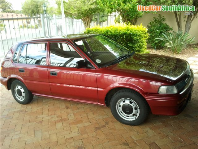 1999 Toyota Tazz 1300 4 Speed Used Car For Sale In Cape Town North