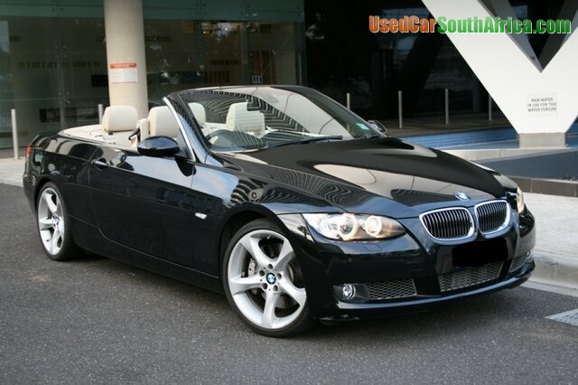 Bmw 335I Convertible >> 2008 Bmw 335i Convertible Used Car For Sale In Barkly West Northern