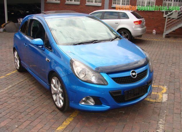 2008 Opel Corsa 2008 Opel Corsa Opc 1 6 Used Car For Sale In Cape