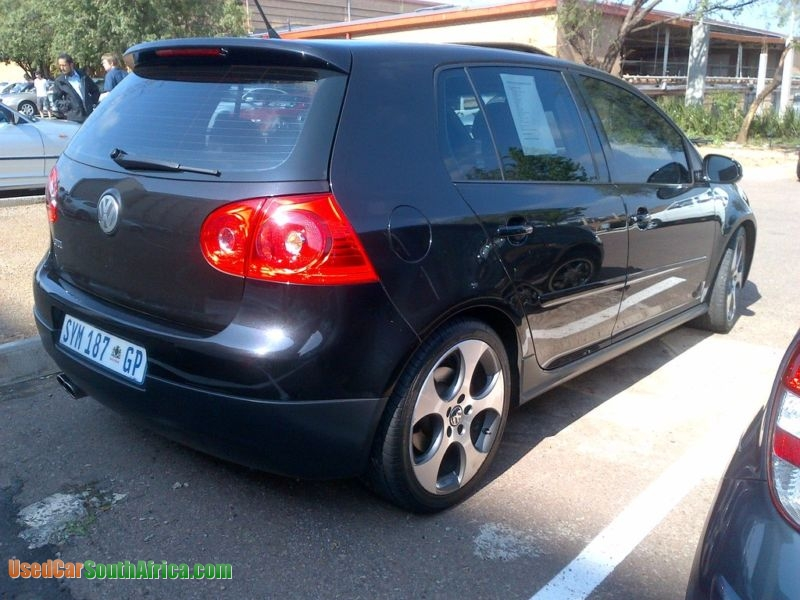 2008 Volkswagen Golf 5 GTI used car for sale in Johannesburg City Gauteng  South Africa - UsedCarSouthafrica com