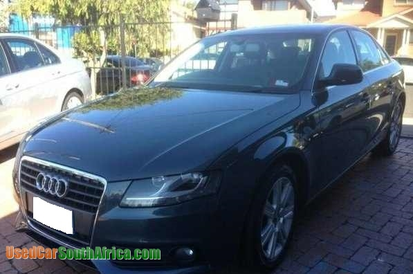 2008 Audi A4 B8 8k 18 Tfsi Used Car For Sale In East London