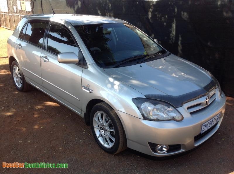 2005 Toyota Runx Rsi 180i Used Car For Sale In Pretoria Central