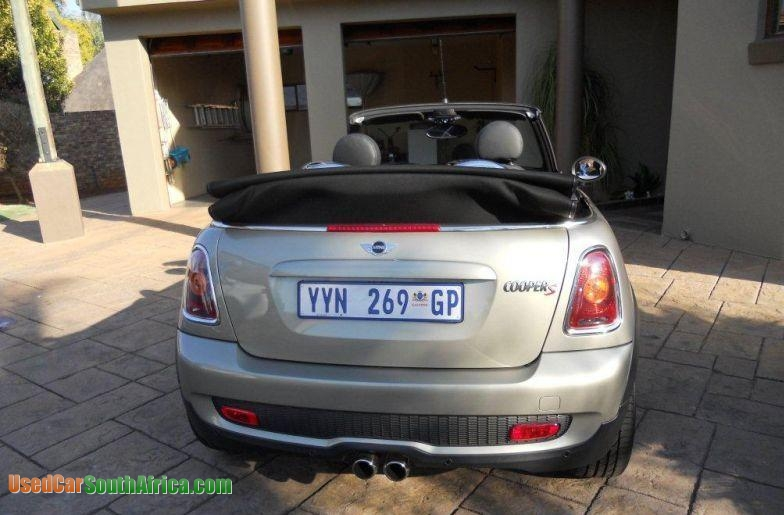 2010 Mini Cooper S Used Car For Sale In Johannesburg City Gauteng