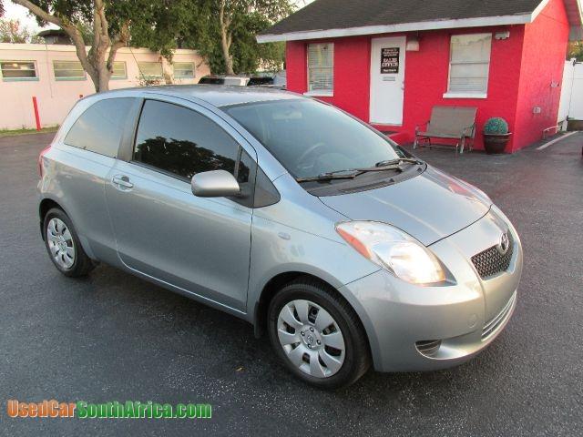 2008 toyota yaris hatchback value