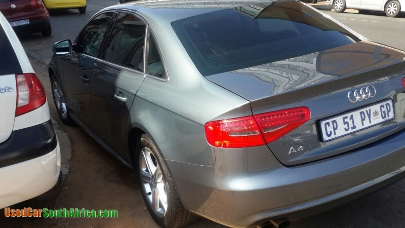 2013 Audi A4 1 8t Used Car For Sale In Johannesburg City Gauteng South Africa Usedcarsouthafrica Com
