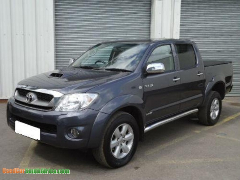 2010 Toyota Hilux Invincible 3 0 Double Cab Bakkie used car for sale in  Johannesburg City Gauteng South Africa - UsedCarSouthafrica com