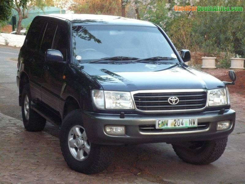 1998 Toyota Land Cruiser Vx 100 Used Car For Sale In Cape