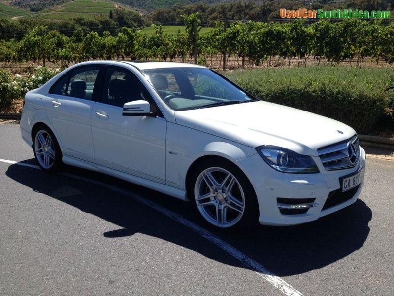 2012 Mercedes Benz C250 C250 Cdi Blue Efficiency Amg Used