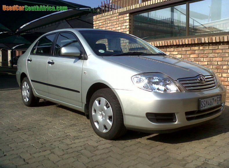 2005 Toyota Corolla For Sale >> 2005 Toyota Corolla 2005 Toyota Corolla 160i GLS used car for sale in Cape Town Central Western ...