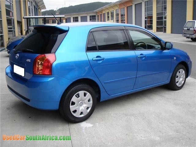 2005 Toyota Runx Blue Used Car For Sale In Cape Town