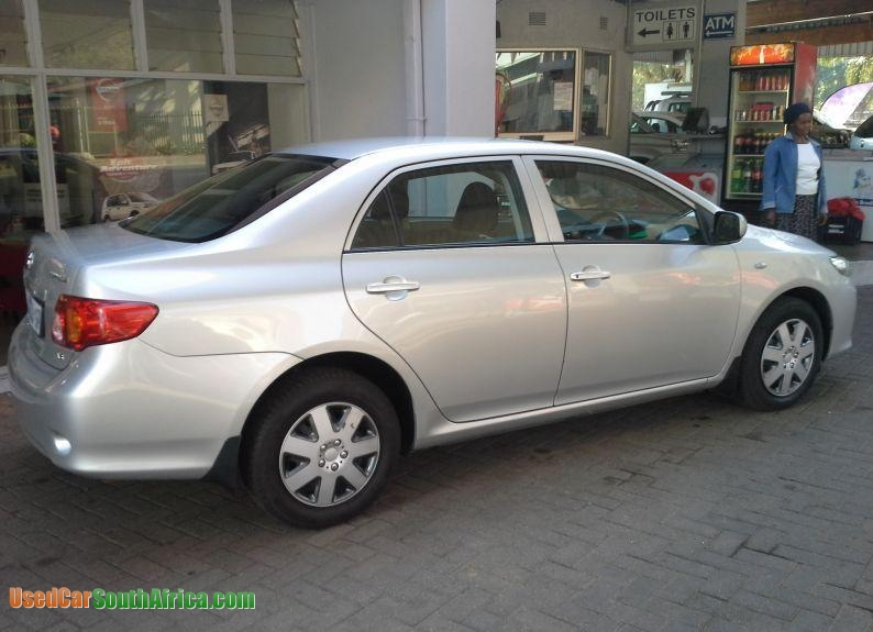 2006 Toyota Corolla For Sale >> 2010 Toyota Corolla 1.6 Professional used car for sale in Alberton Gauteng South Africa ...