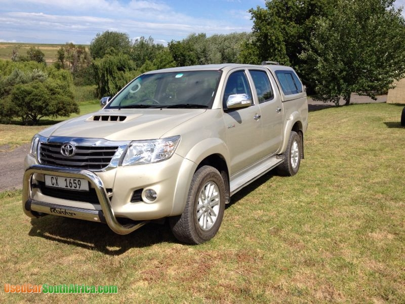 2011 Toyota Hilux Used Car For Sale In Bloemfontein