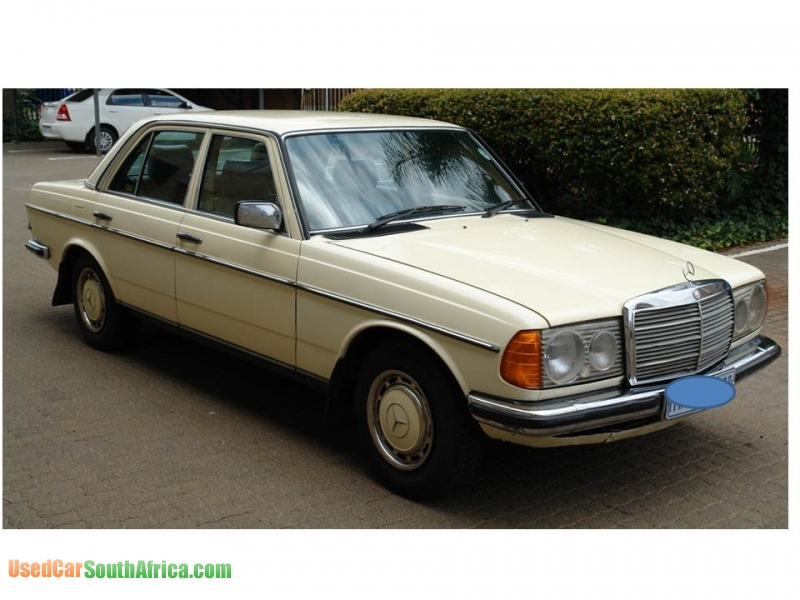 1984 Mercedes Benz E230 Used Car For Sale In Centurion
