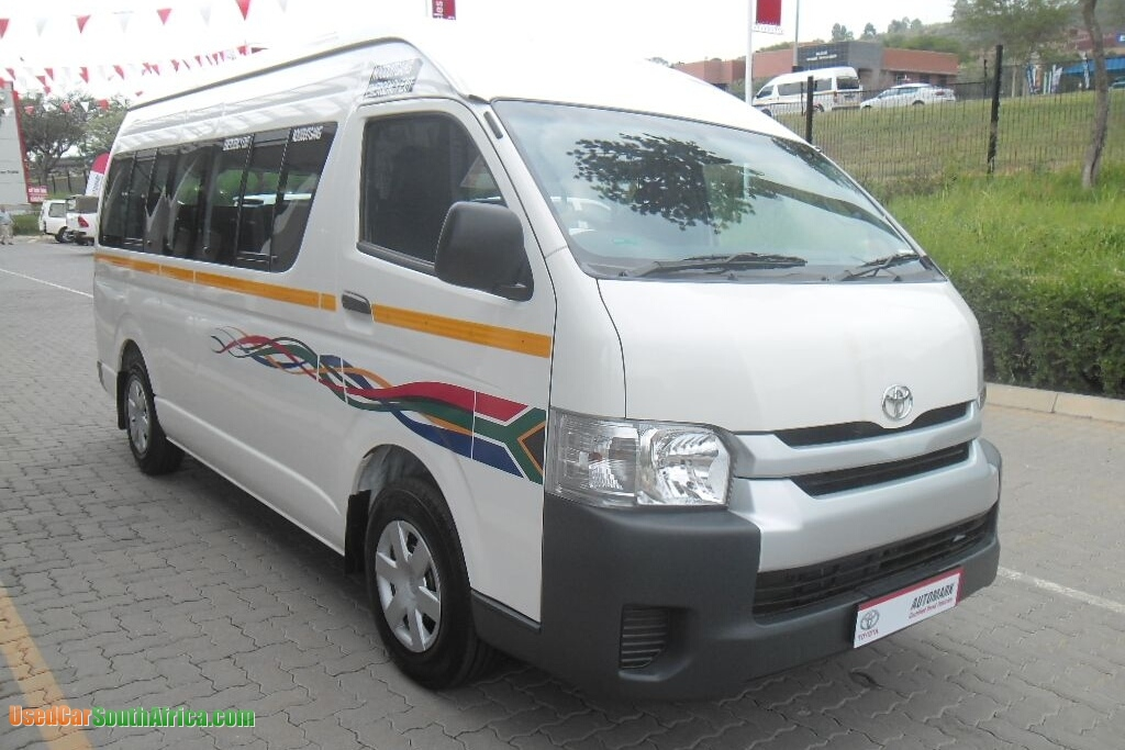 2016 Toyota Quantum 2.5D used car for sale in Aliwal North Eastern Cape South Africa ...