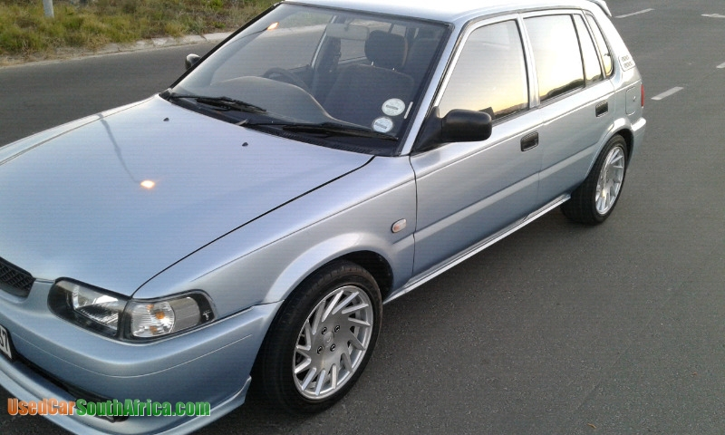 Toyota Pay By Phone >> 1999 Toyota Tazz 1.6 used car for sale in Johannesburg City Gauteng South Africa ...