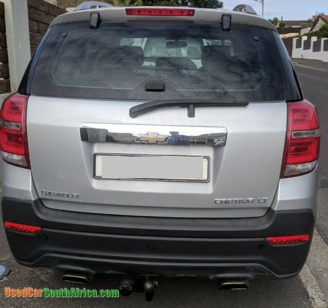 Used Chevrolet Captiva: 2014 Chevrolet Captiva LT Used Car For Sale In Cape Town
