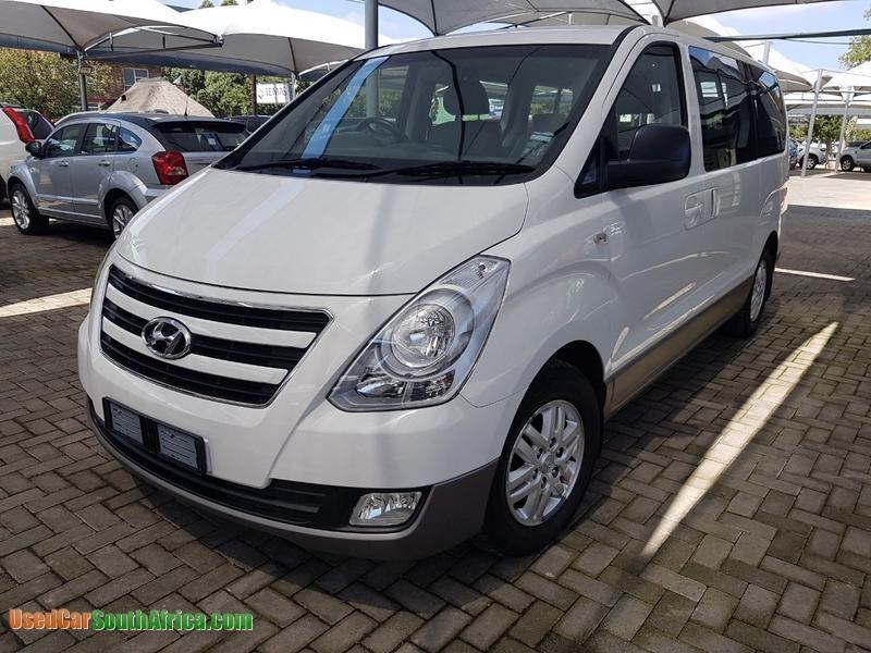 2016 Hyundai H 1 Van Used Car For Sale In Johannesburg