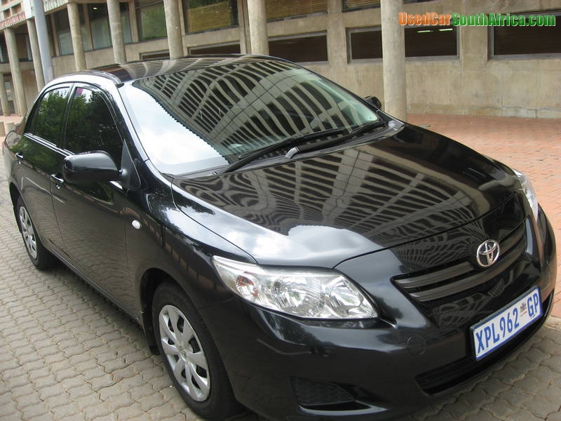 2008 Toyota Corolla For Sale >> 2008 Toyota Corolla 1 4 Professional Used Car For Sale In Pretoria Central Gauteng South Africa Usedcarsouthafrica Com