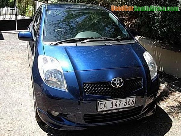 2007 Toyota Yaris Used Car For Sale In Cape Town Central Western Cape South Africa Usedcarsouthafrica Com