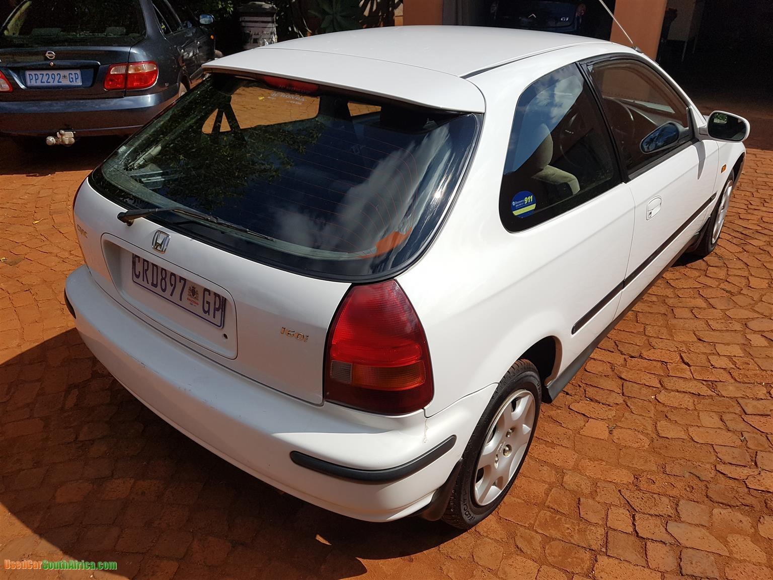 1986 Honda Civic used car for sale in Brakpan Gauteng ...