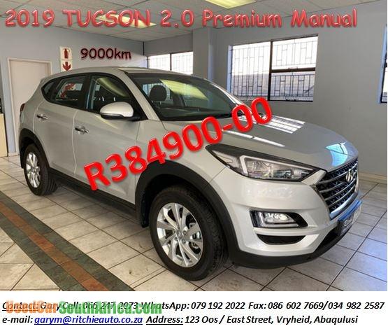 2019 Hyundai Tucson 2.0L Premium Manual Used Car For Sale